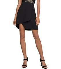 bcbgmaxazria asymmetrical pencil skirt