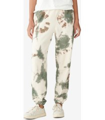 lucky brand tie-dyed jogger pants