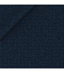 pantaloni da uomo su misura, loro piana, blu notte pied de poule, quattro stagioni | lanieri