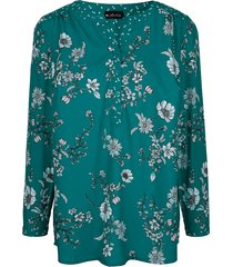 blouse m. collection groen
