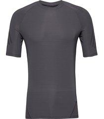 ask tec ss 3s t-shirts short-sleeved svart adidas performance