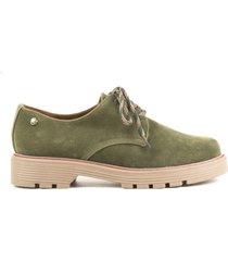 zapatos casuales para mujer cosmos verde-1