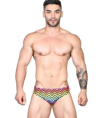 andrew christian disco pride bikini disco animal print