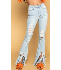 akira it up to me high rise flare jeans