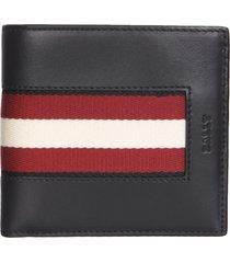 bally brasai. hp leather wallet