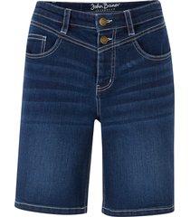 bermuda in jeans elasticizzato (blu) - john baner jeanswear