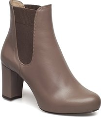 nirma_na shoes boots ankle boots ankle boots with heel brun unisa