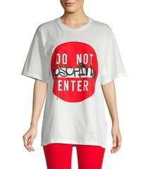 do not enter graphic t-shirt