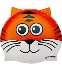 gorro silicona animales tigre finis usa - naranja
