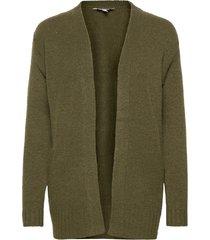 bymirelle short cardigan 2 - stickad tröja cardigan grön b.young