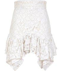 amen mini skirt in lace