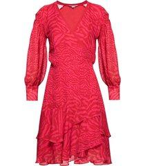 keva patterned dress