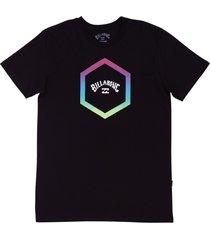 camiseta access billabong - preto - masculino - dafiti