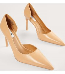 na-kd shoes sidoskurna pumps - beige