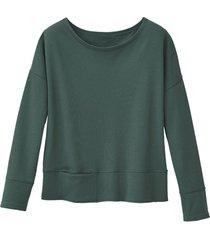 sweatshirt, groen 40/42