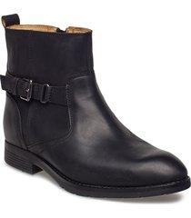 nashoba chelsea wp shoes boots ankle boots ankle boot - flat svart sebago