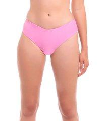 bikini tanga alto rosa samia