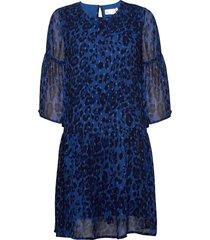 finnaiw dress jurk knielengte blauw inwear