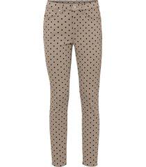 pantaloni elasticizzati fantasia (marrone) - bodyflirt
