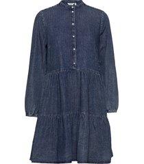byiselle dress - dresses jeans dresses blå b.young