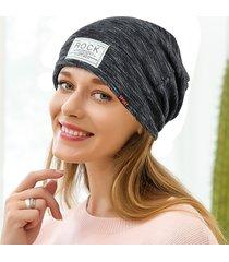 cappellino da donna casual vogue wild cotton beanie cap