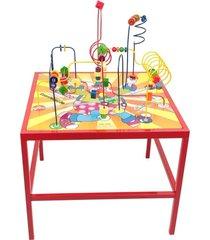 brinquedo educativo aramado mesa de coordenação - carlu 1927 - carlu - kanui