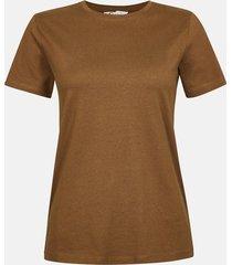 basic t-shirt - brun