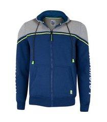 jaqueta de moletom hd com capuz canguru aberto 24143 - masculina