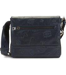 tamrac embossed leather messenger bag