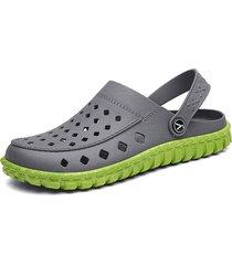 uomo slippers da spiaggia leggeri con lacci regolabili
