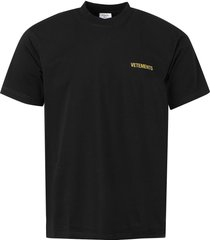 iconic logo t-shirt, black