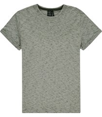 kultivate 2001010208 ts green kv 435 t-shirt kombu green - groen