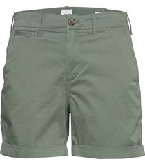 5 high rise khaki shorts shorts flowy shorts/casual shorts grön gap
