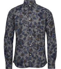 hadwin spread collar shirt overhemd casual grijs morris