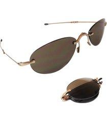 men sunglasses folded lori greiner oval metal  0832
