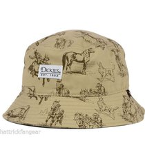 dickies western convo bucket style cap hat  l/xl