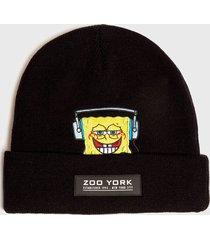 gorro bob band negro zoo york