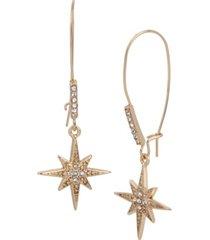 betsey johnson celestial starburst dangle earrings