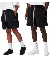 converse pantalón corto cutter black