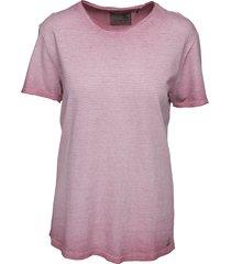 roze gestreept heren shirt no excess - 85320109