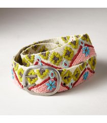 women's future folklore wool belt
