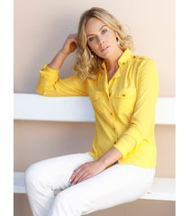 blouse amy vermont geel