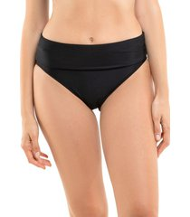 bikini calzón pin up doble uso negro samia