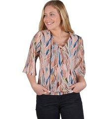 blusa pabilo escote rosado alexandra cid