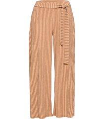 pantaloni culotte in jersey (marrone) - bodyflirt