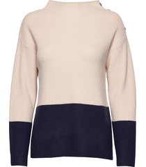 pullover-knit heavy stickad tröja creme brandtex