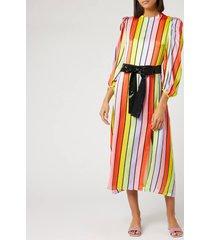 olivia rubin women's seraphina dress - resort stripe - us 8/uk 12