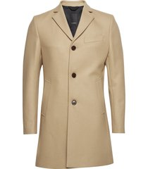 wolger compact melton outerwear coats wool coats beige j. lindeberg