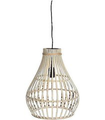 lampa wisząca bambusowa bella beżowa