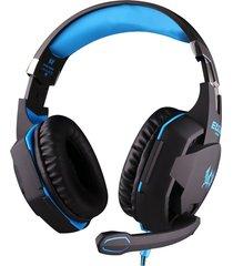 audífono diadema gamer g2100 micrófono led